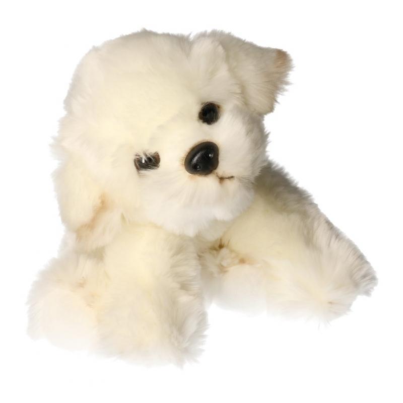 783a223001c2d1 Pluche Bison Frise hond knuffel 24 cm als cadeau versturen ...